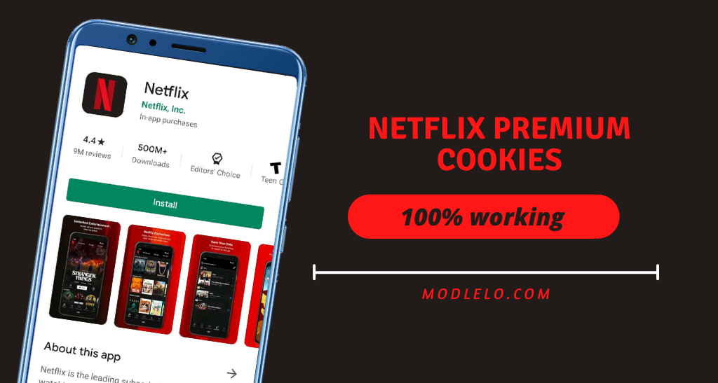 Netflix Cookies Latest [100% Working] Every Hour Updated